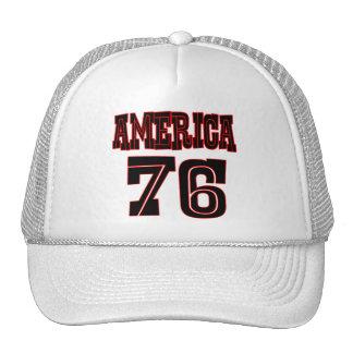 America '76 trucker hat