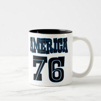 America '76 Two-Tone coffee mug