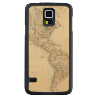 America 7 carved® maple galaxy s5 slim case