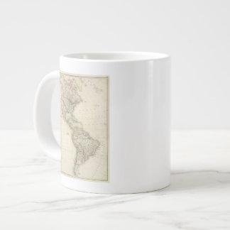America 7 giant coffee mug