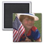 América 845 patrióticos imanes de nevera