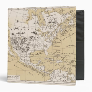 America, about 1670 3 ring binders