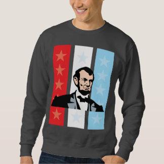America - Abraham Lincoln President United States Pull Over Sweatshirts