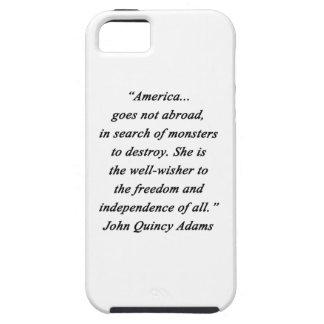 America Abroad - John Q Adams iPhone SE/5/5s Case