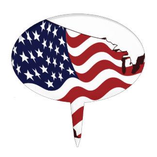 ¡América! Decoraciones Para Tartas