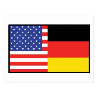 América Alemania Tarjeta Postal