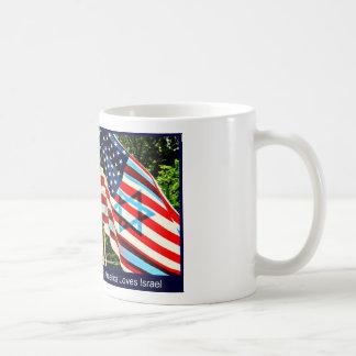 América ama la taza de Israel