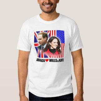 América ama príncipe Guillermo y la camisa de Kate