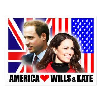 América ama voluntades y la postal de Kate