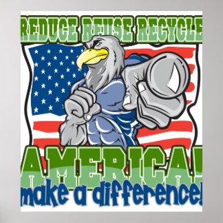América ambiental poster