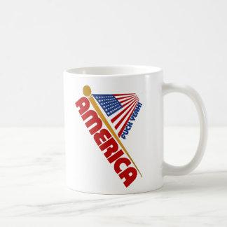 America american flag coffee mug