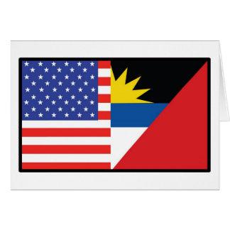 América Antiqua Barbuda Tarjeta De Felicitación