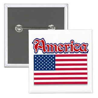 America Apparel and American Pride Gifts Pin