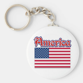 America Apparel and American Pride Gifts Keychain