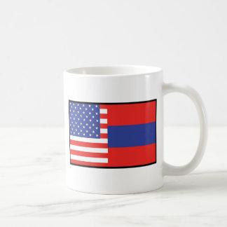 America Armenia Coffee Mug
