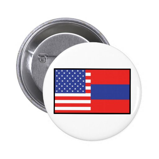 América Armenia Pin Redondo 5 Cm