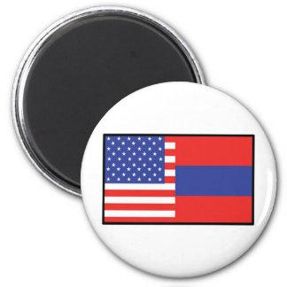 America Armenia Refrigerator Magnets