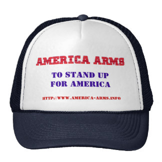 America Arms To Stand Up For America, h... Trucker Hat