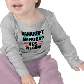 ¿América arruinada Camisetas