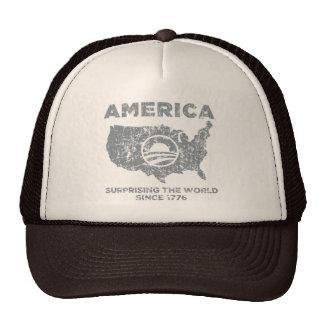 América: Asombrosamente el mundo Gorros Bordados