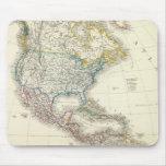 America Atlas Map Mousepad