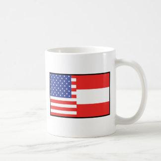 America Austria Coffee Mug