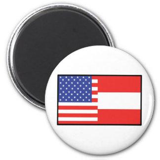 América Austria Imán Redondo 5 Cm