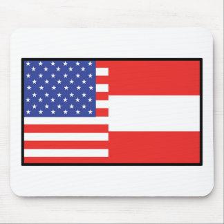 America Austria Mouse Mat