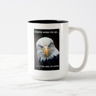 America Awake Two-Tone Coffee Mug