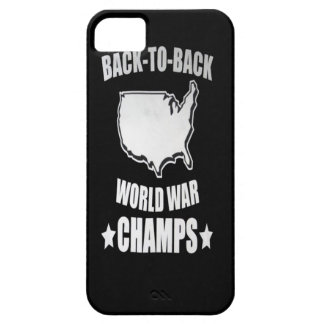 AMerica Back to Back World War Champs iPhone  Case iPhone 5 Cover