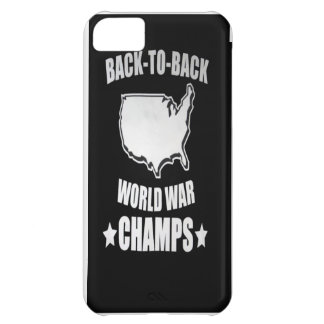 AMerica Back to Back World War Champs iPhone Case iPhone 5C Case