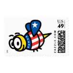 America Bee Postage