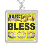 América bendice el collar de dios