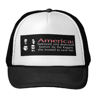 America betrayed and destroyed trucker hat