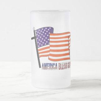America Bless God Mugs