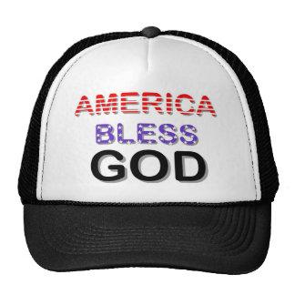 America Bless God Trucker Hat