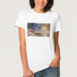 America - Boots & Fireworks T-Shirt