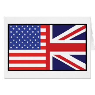 America Britain Greeting Cards