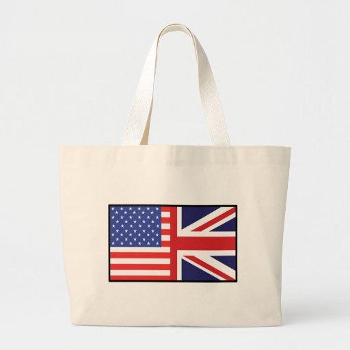America Britain Large Tote Bag