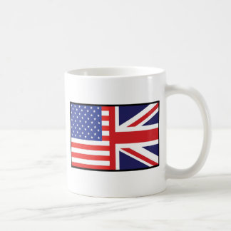 America Britain Classic White Coffee Mug