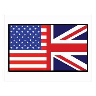 America Britain Postcard