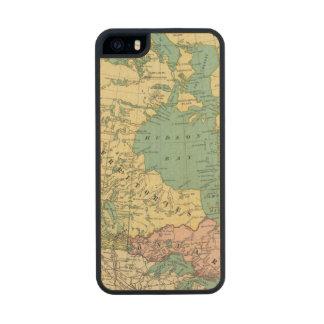 América británica funda de arce carved® para iPhone 5 slim