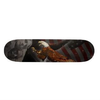 América Bryan patriótico renacido C. Smoak Skatebo Patines