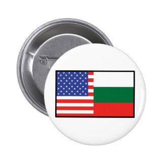 América Bulgaria Pin Redondo De 2 Pulgadas