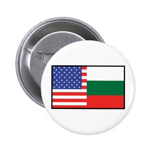 América Bulgaria Pins