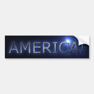 AMERICA! BUMPER STICKER
