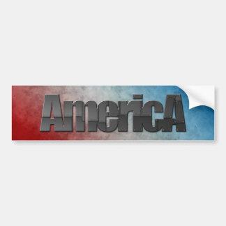 America Car Bumper Sticker