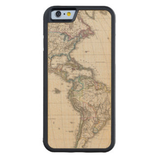 America by Stieler Carved® Maple iPhone 6 Bumper