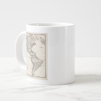America by Stieler Giant Coffee Mug