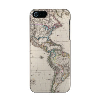 America by Stieler Metallic Phone Case For iPhone SE/5/5s